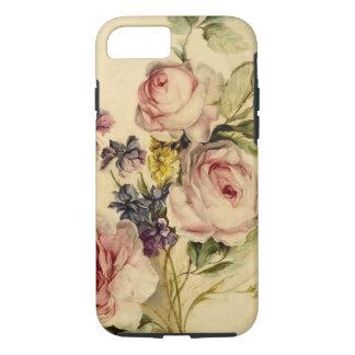 Vintage floral a partir de siglo XVIII Funda iPhone 7