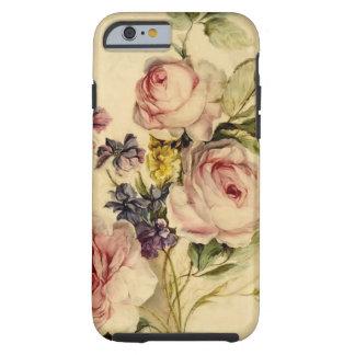 Vintage floral a partir de siglo XVIII Funda Resistente iPhone 6