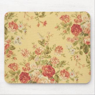 vintage floral alfombrilla de ratón