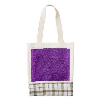Vintage Floral Amethyst Purple Grape Zazzle HEART Tote Bag