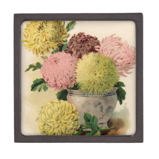 Vintage Floral and Fruit Seed Catalog Gifts Premium Jewelry Boxes