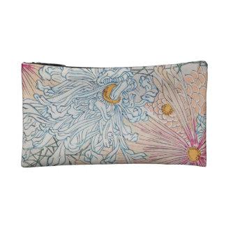 Vintage Floral art Makeup Bags