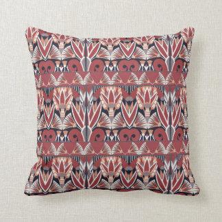 Vintage Floral Art-deco Pillow