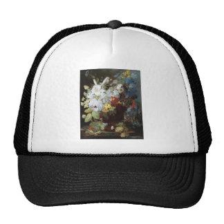 Vintage Floral Art Hat