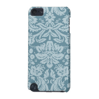 Vintage floral art nouveau blue green pattern iPod touch (5th generation) covers