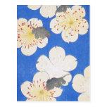 Vintage Floral Art Post Card