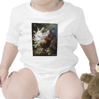 Vintage Floral Art Tee Shirts
