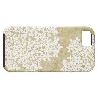 Vintage floral blanco iPhone 5 Case-Mate protector