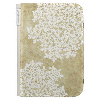 Vintage floral blanco