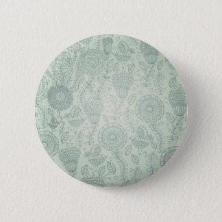 Vintage Floral Button