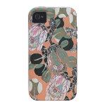 Vintage floral Case-Mate iPhone 4 carcasas