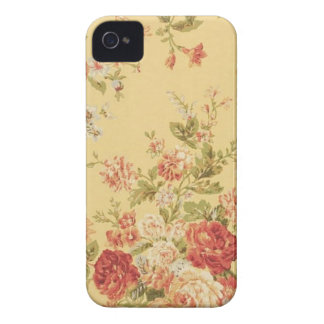 vintage Floral Case-Mate iPhone 4 Case