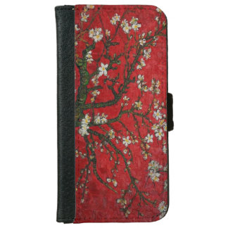Vintage Floral Cherry Blossoms Wallet Case