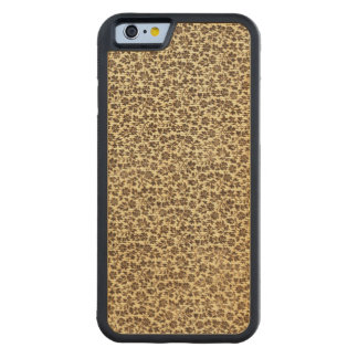 Vintage Floral Coffee Brown Carved® Maple iPhone 6 Bumper Case