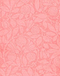 Vintage Floral Coral Ginger Peach Shower Curtain