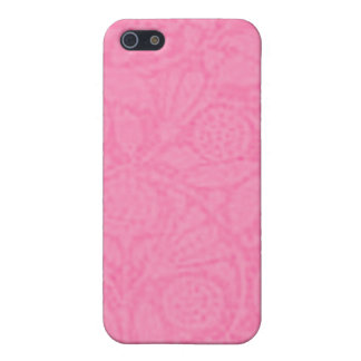 Vintage Floral Cotton Candy Pink iPhone SE/5/5s Case