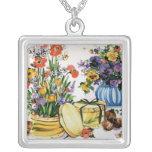vintage Floral Custom Jewelry