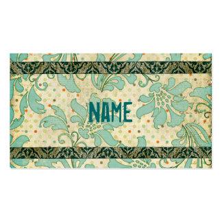 Vintage  Floral Damask  Business Card/Tags