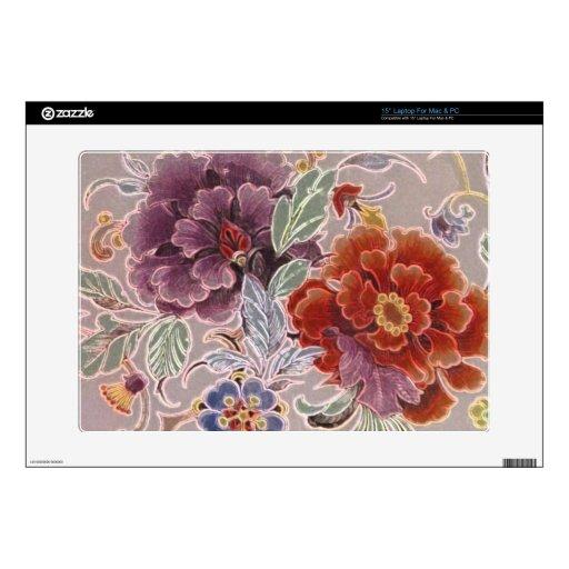 Vintage Floral Decals For Laptops