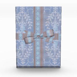 Vintage Floral Decor Wallpaper Pattern Blue Brown Award
