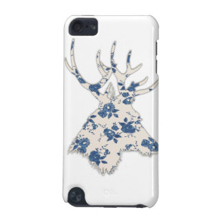 Vintage Floral Deer Head iPod Touch 5G Cover