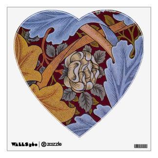 Vintage Floral Design Acanthus Leaves Wall Skins