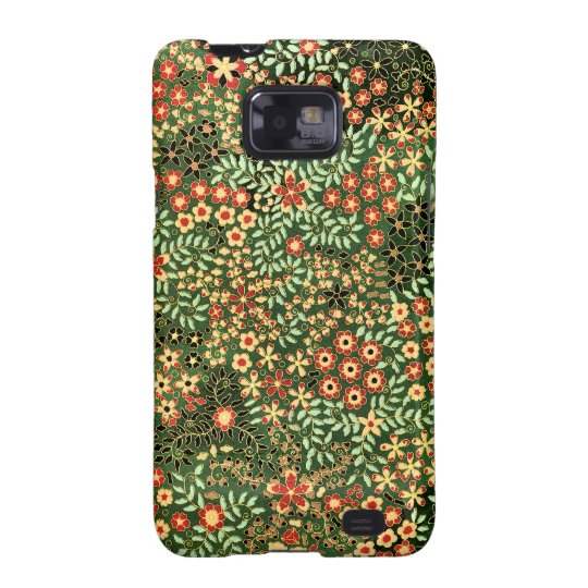Vintage Floral Design Galaxy SII Cover