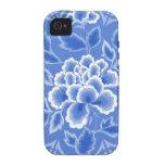 Vintage Floral Design iPhone 4/4S Cover
