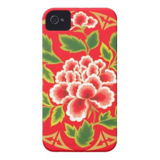 Vintage Floral Design iPhone 4 Case-Mate Case