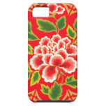 Vintage Floral Design iPhone 5 Covers