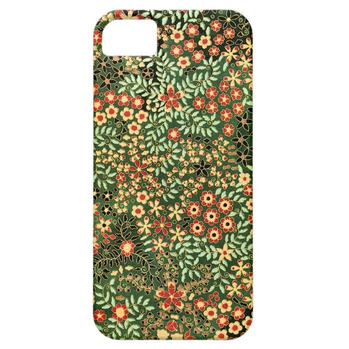 Vintage Floral Design iPhone SE/5/5s Case