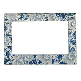 Vintage Floral Design Magnetic Photo Frame