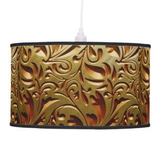 VINTAGE FLORAL DESIGN PENDANT LAMPS
