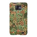 Vintage Floral Design Samsung Galaxy Cover