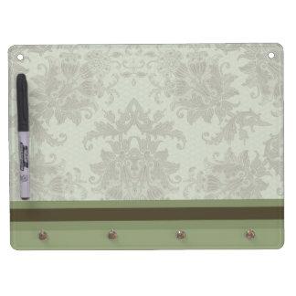 Vintage Floral Dry Erase Board
