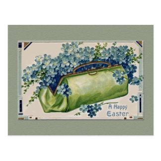 Vintage Floral Easter Post Cards