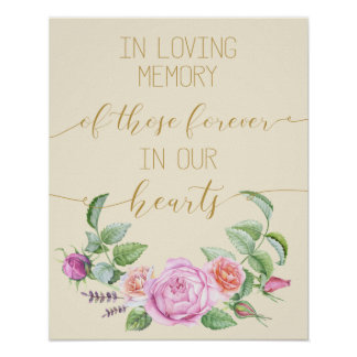 vintage floral en muestra cariñosa del poster de