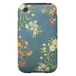 Vintage Floral Fabric (8) Tough iPhone 3 Covers