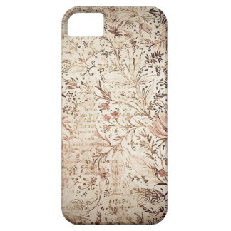Vintage floral faded book iphone 5 case