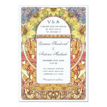 Vintage Floral Fall Wedding Invitations
