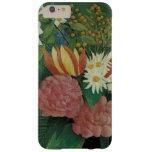 Vintage floral, flores con la hiedra de Henri Funda Para iPhone 6 Plus Barely There