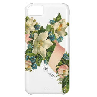 Vintage Floral Flower Cross illustration -iPhone 5 iPhone 5C Cover