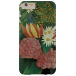 Vintage Floral, Flowers with Ivy by Henri Rousseau Barely There iPhone 6 Plus Case