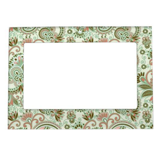 Vintage Floral Frame Design - 3