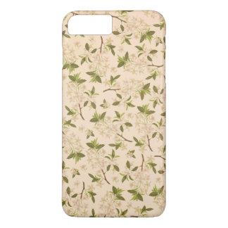 Vintage floral funda iPhone 7 plus