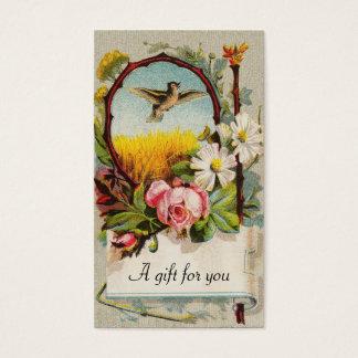 Vintage Floral Gift Tag