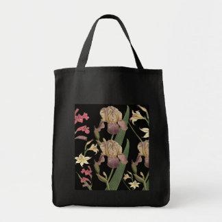 VINTAGE FLORAL Gocery Tote Bag