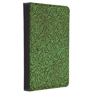 Vintage Floral Green Flowers Kindle 4 Case