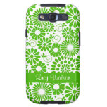 Vintage floral green Samsung Galaxy S Case Samsung Galaxy SIII Covers