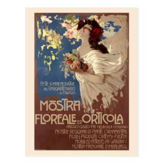 Vintage Floral & Horticultural Show Ad Postcard